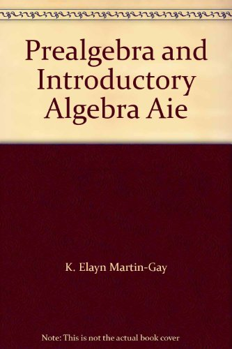 9780321643735: Prealgebra and Introductory Algebra