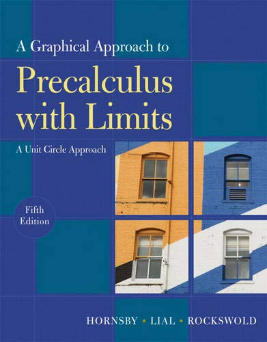 9780321644732: Graphical Approach to Precalculus with Limits: A Unit Circle Approach, A (5th Edition)