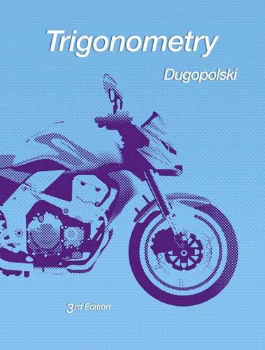 9780321644756: Trigonometry (3rd Edition)