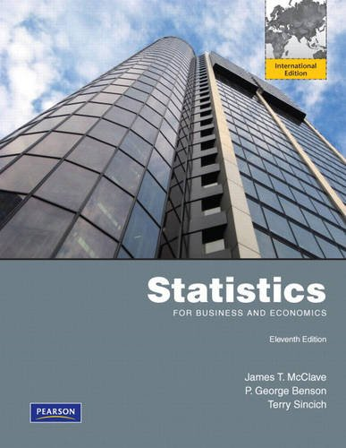 9780321645111: Statistics for Business and Economics : International Edition 11