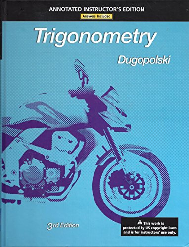 9780321645586: Trigonometry, Annotated Instructor's Edition