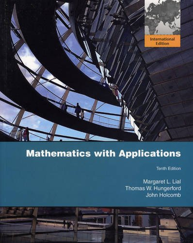 9780321646774: Mathematics with Applications