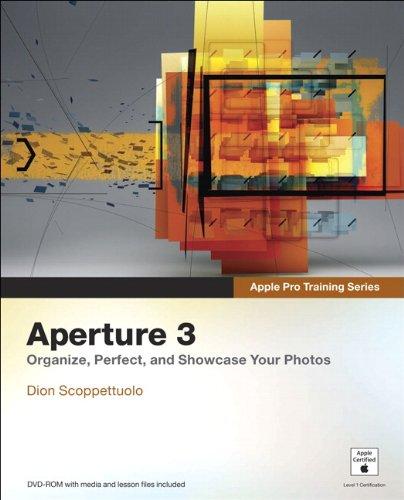 9780321647443: Apple Pro Training Series: Aperture 3