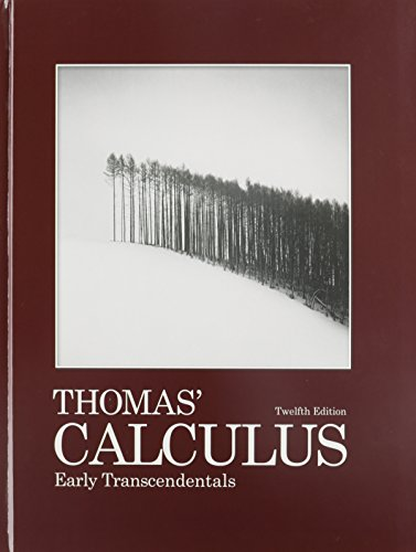 9780321648426: Thomas' Calculus Early Transcendentals with 9780321431301 MyMathLab/MyStatLab -- Glue-in Access Card and Sticker (12th Edition)
