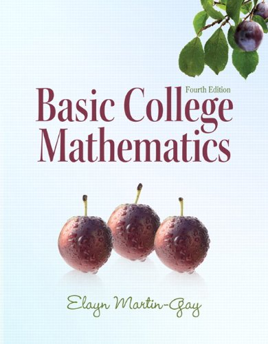 9780321649409: Basic College Mathematics (4th Edition)
