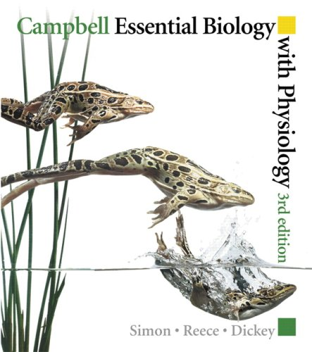 Books a la Carte for Campbell Essential Biology with Physiology & Study Card (3rd Edition) (0321649559) by Simon, Eric J.; Reece, Jane B.; Dickey, Jean L.