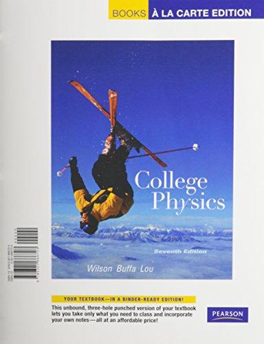 9780321650771: College Physics, Books a la Carte Plus MasteringPhysics (7th Edition)