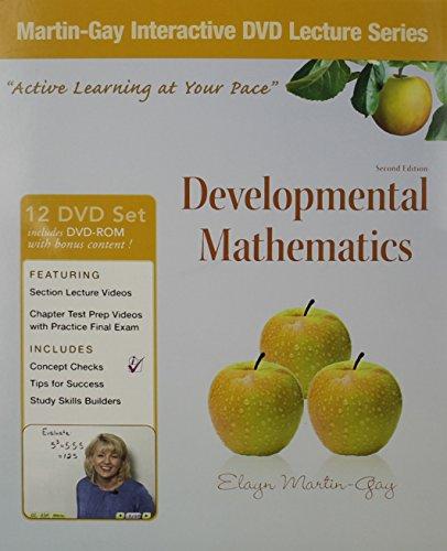 9780321653185: Interactive DVD Lecture Series for Developmental Mathematics