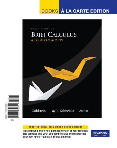 calculus with applications plus mylab math with pearson etext access card package 11th edition