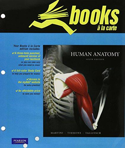 9780321660794: Human Anatomy, Books a la Carte Edition (6th Edition)