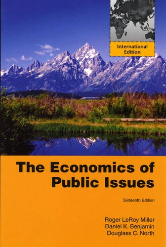 9780321662897: The Economics of Public Issues