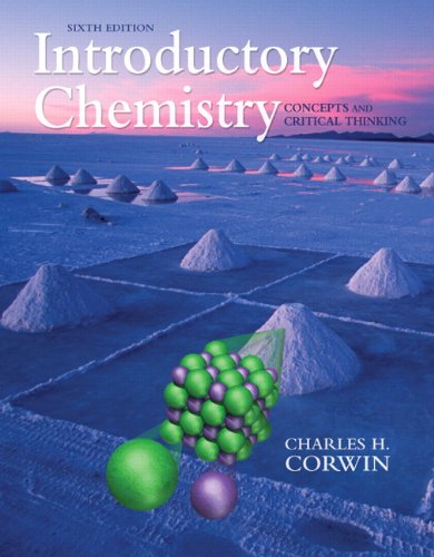 9780321663054: Introductory Chemistry: Concepts and Critical Thinking (6th Edition)