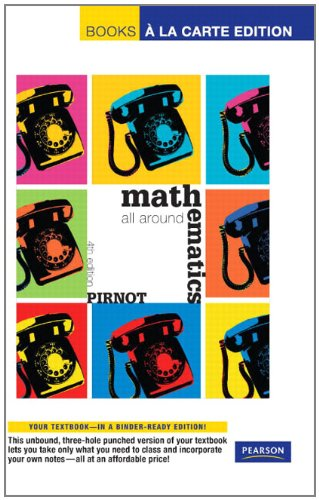 9780321663535: Mathematics: All Around, Books a La Carte Edition