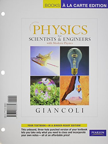 9780321666680: Physics for Scientists and Engineers, Books a la Carte Edition (4th Edition)