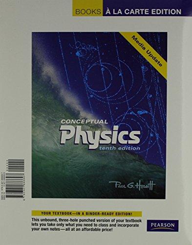 9780321666697: Books a la Carte for Conceptual Physics Media Update (10th Edition)