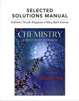 9780321667540: Selected Solutions Manual for Chemistry: A Molecular Approach