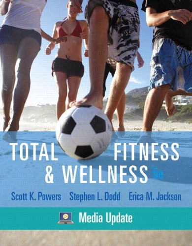 9780321667830: Books a la Carte Plus for Total Fitness & Wellness, Media Update (5th Edition)