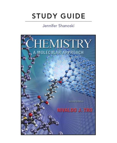 9780321667885: Study Guide for Chemistry: A Molecular Approach