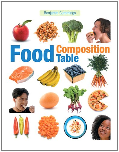 Food Composition Table: Benjamin Cummings