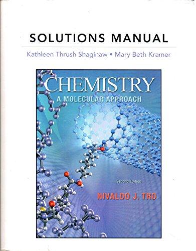 9780321667960: Chemistry: Molecular Appr (Sol Man) 2nd