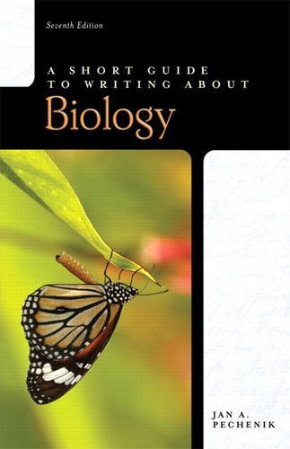 9780321668387: Short Guide to Writing About Biology, A (Valuepack item only)