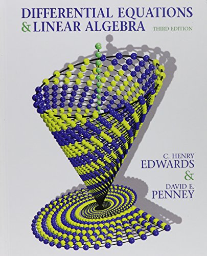 Differential Equations and Linear Algebra and Student Solutions Manual (3rd Edition): Edwards, C. ...