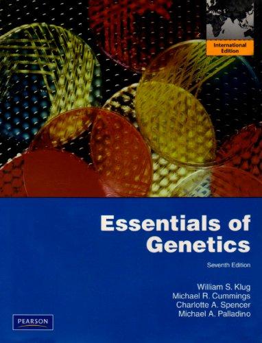 Essentials of Genetics: International Edition: Palladino, Michael A.