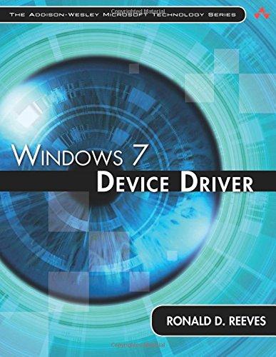 9780321670212: Windows 7 Device Driver (Addison-Wesley Microsoft Technology Series)