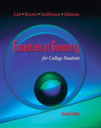9780321671820: Essentials of Geometry, Books a la Carte Edition (2nd Edition)