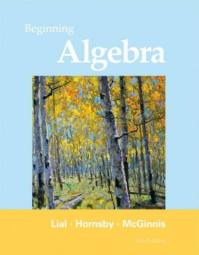 9780321673480: Beginning Algebra (11th Edition)