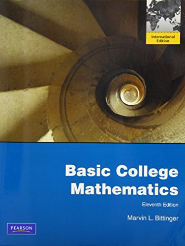 9780321675118: Basic College Mathematics Eleventh Edition (International Edition)