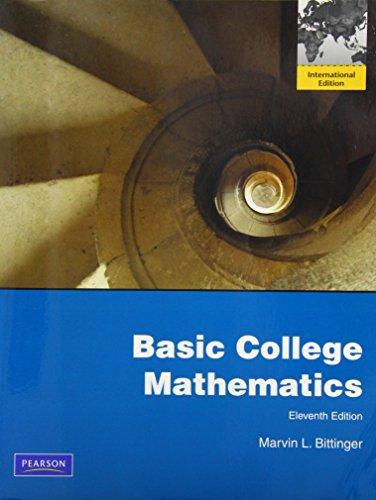 9780321675118: Basic College Mathematics