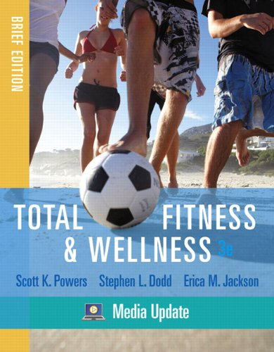 9780321676238: Total Fitness & Wellness, Brief Edition, Media Update (3rd Edition)