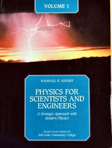 9780321677525: Physics for Scientists and Engineers, Volume 1: A Strategic Approach [With Paperback Book]