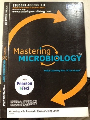 9780321677969: MasteringMicrobiology -- Standalone Access Card -- for Microbiology: An Introduction (MasteringMicrobiology (Access Codes))