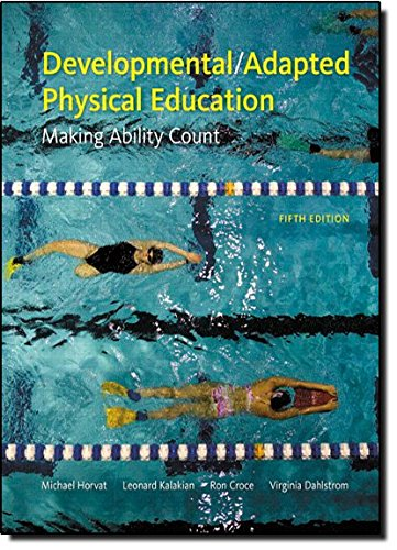 9780321678270: Developmental/Adapted Physical Education: Making Ability Count (5th Edition)
