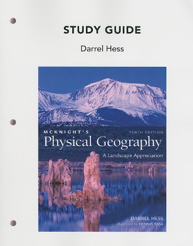 9780321678348: Study Guide for Mcknight's Physical Geography: A Landscape Appreciation