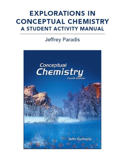 Explorations in Conceptual Chemistry: A Student Activity: Suchocki, John A.,
