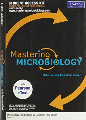 MasteringMicrobiology with Pearson EText Student Access Kit: Bauman, Robert W.