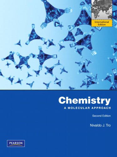 9780321688026: Chemistry: A Molecular Approach: International Edition