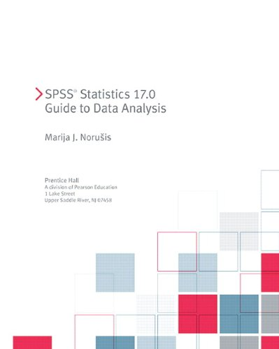 9780321690586: PASW Statistics 18 Guide to Data Analysis