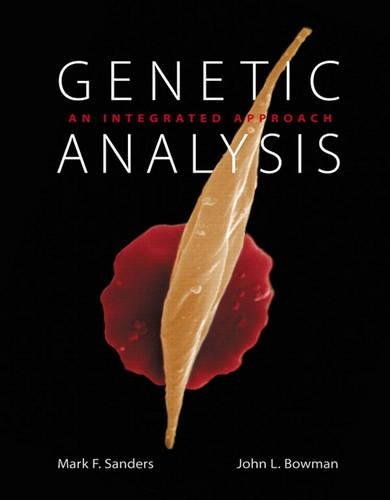 9780321690869: Genetic Analysis