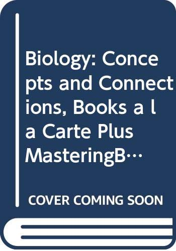 9780321691200: Biology: Concepts and Connections, Books a la Carte Plus MasteringBiology (6th Edition)