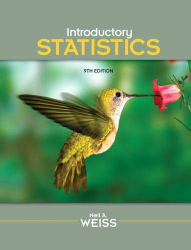 9780321691224: Introductory Statistics (9th Edition)
