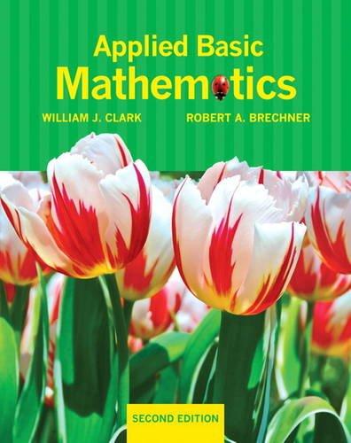 9780321691828: Applied Basic Mathematics (2nd Edition)
