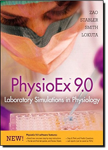 9780321692177: PhysioEx™ 9.0: Laboratory Simulations in Physiology