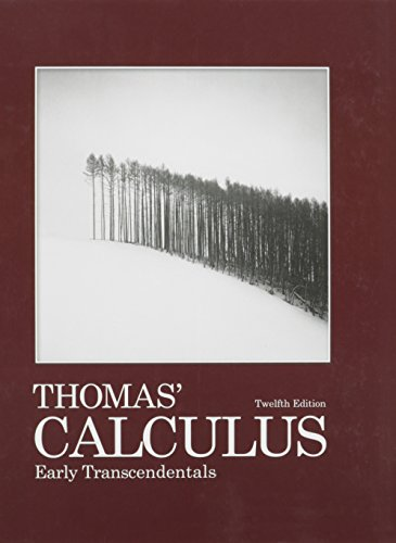 9780321692405: Thomas' Calculus Early Transcendentals with Student Solutions Manual, Multivariable and Single Variable with MyMathlab/MyStatsLab (12th Edition)
