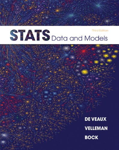 9780321692559: Stats: Data and Models (3rd Edition)