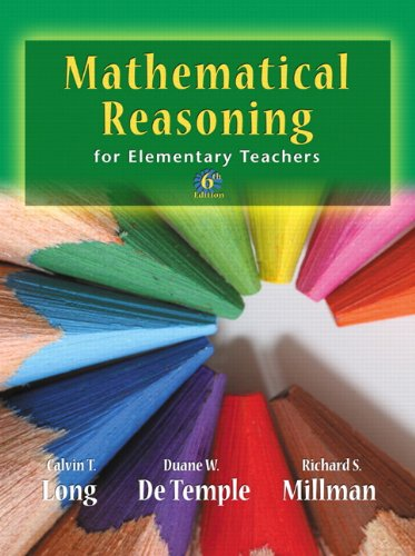 9780321693129: Mathematical Reasoning for Elementary School Teachers (6th Edition)