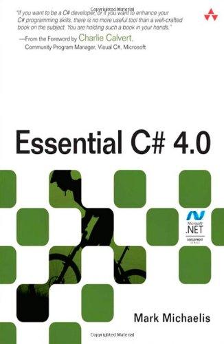 9780321694690: Essential C# 4.0 (3rd Edition) (Microsoft Windows Development Series)